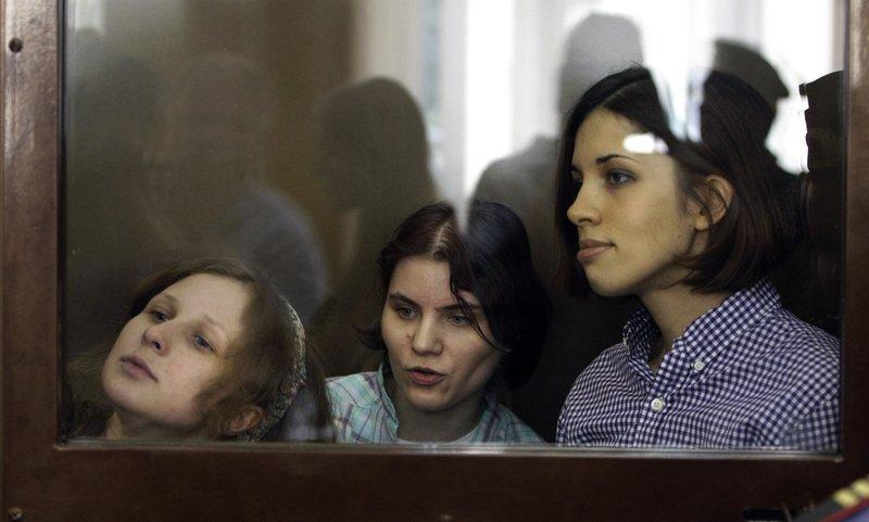 Maria Alekhina, Nadezhda Tolokonnikova, Yekaterina Samutsevich