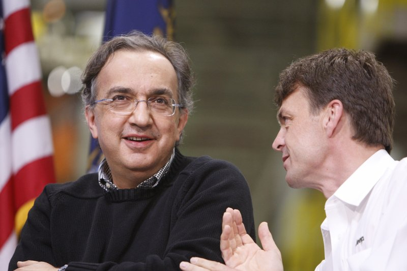Sergio Marchionne, Mike Manley