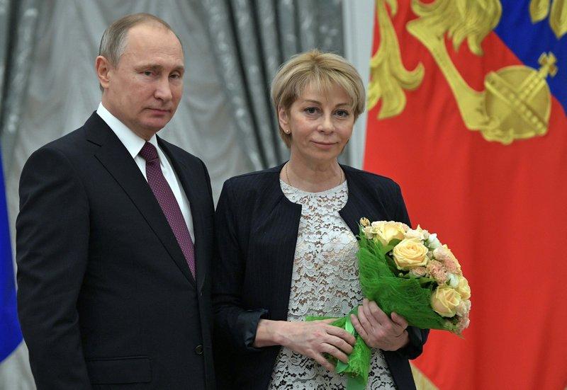 Vladimir Putin,, Yelizaveta Glinka
