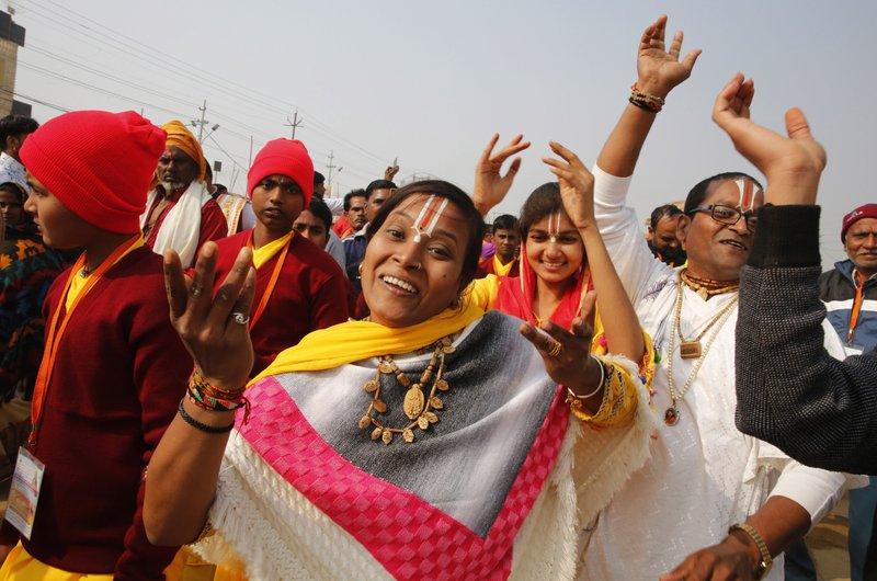 India's gov't boosts massive Hindu festival, eyeing election