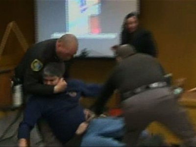 Victim's Father Tries to Attack Nassar in Court