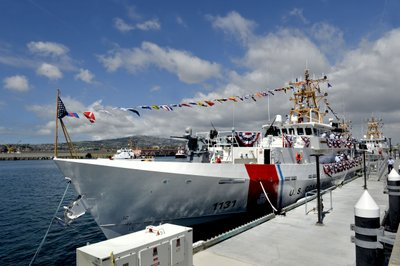 5b9f8e50ae US Coast Guard commissions cutter Terrell Horne