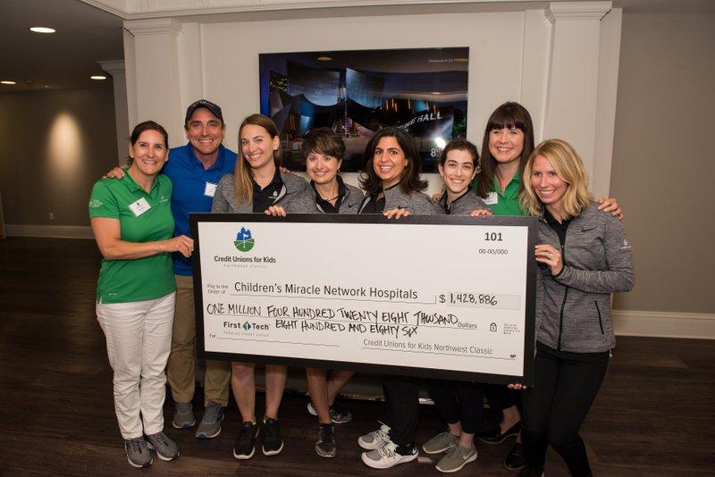 2018 Northwest Classic Raises More Than $1.428 Million for Children's Hospitals