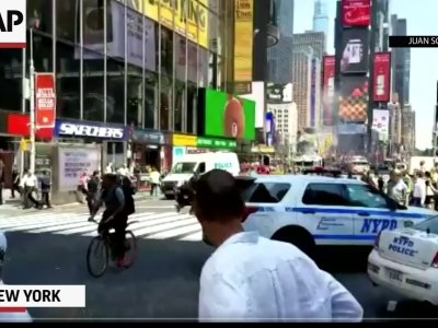 One Killed in Times Square Car Crash
