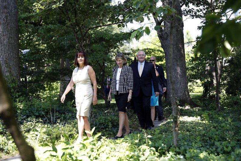 Karen Pence, Sonny Perdue, Mary Perdue