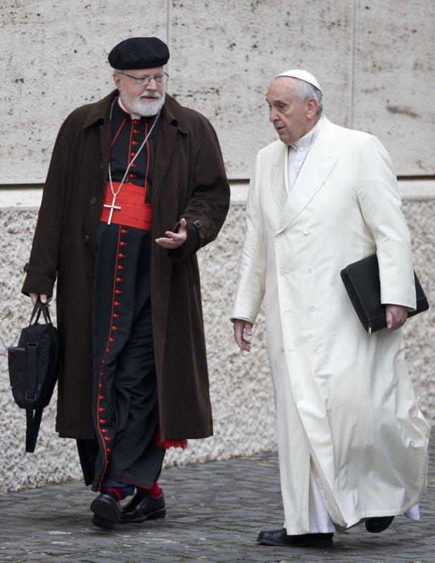 Sean O'Malley, Pope Francis