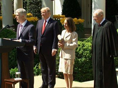 Gorsuch Vows to Serve Constitution