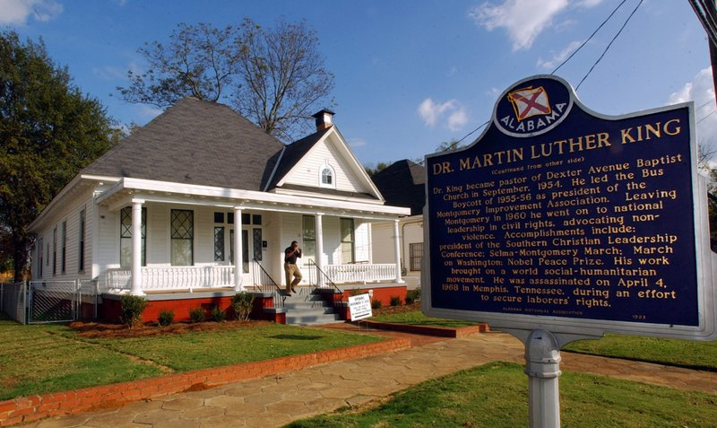 MARTIN LUTHER KING PARSONAGE