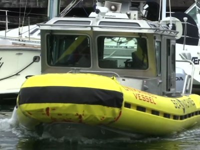 Next Tech Transportation Race: Self-Driving Boat