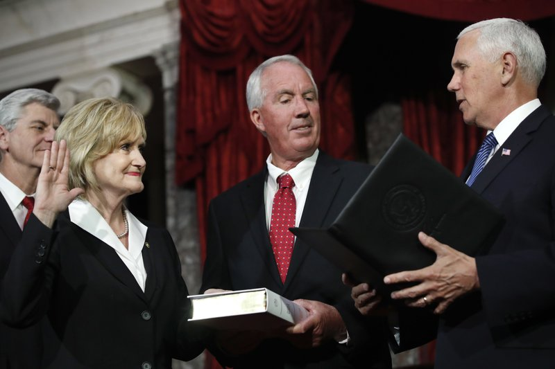 Cindy Hyde-Smith, Mike Pence, Michael Smith, Phil Bryant