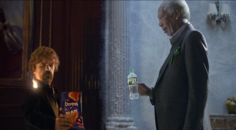 Peter Dinklage, Morgan Freeman