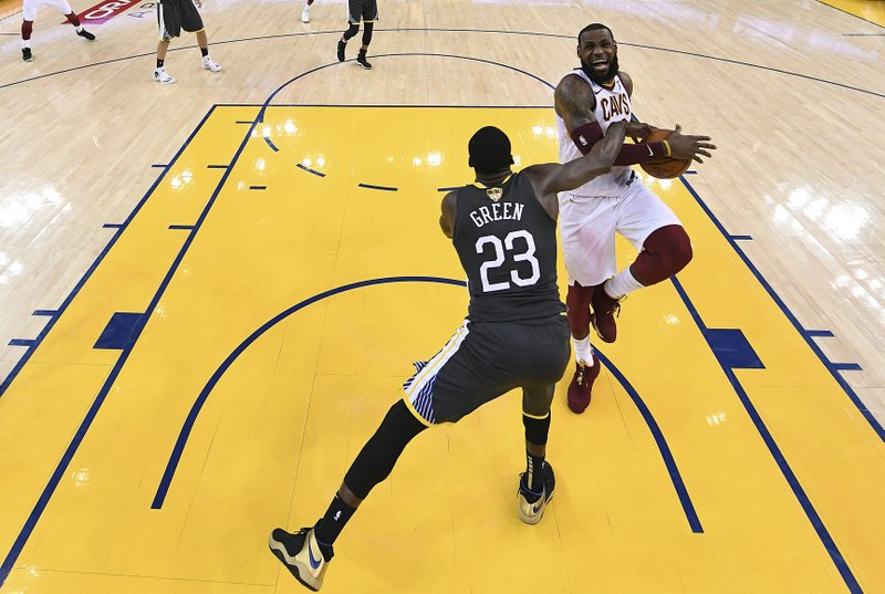 LeBron James, Draymond Green