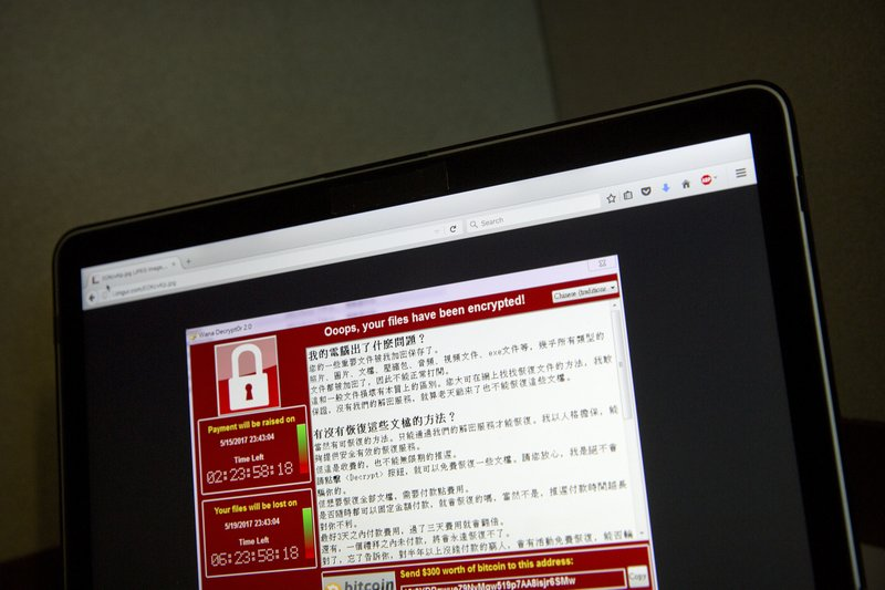 Image result for wannacry associated press
