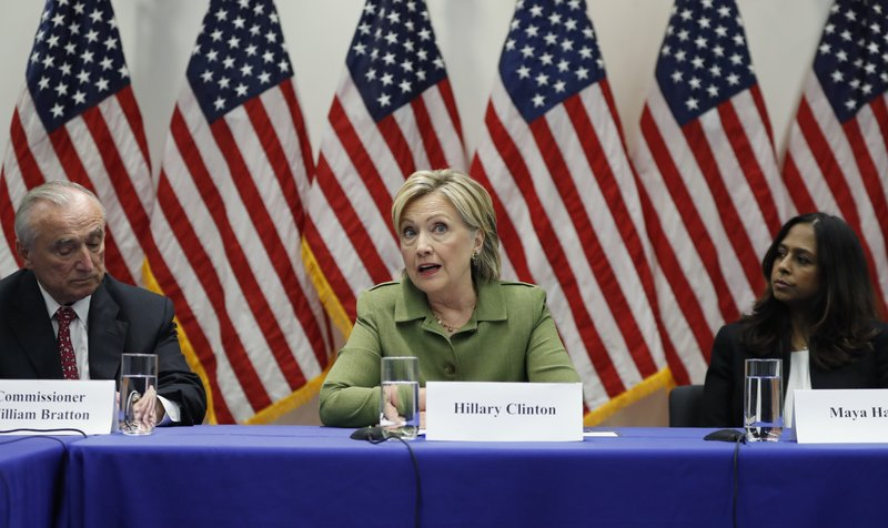 Hillary Clinton, Bill Bratton, Maya Harris
