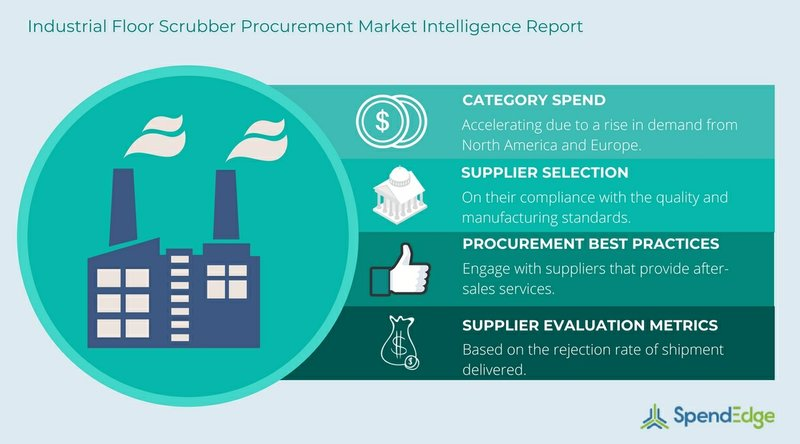 Industrial Floor Scrubber Procurement Report: Pricing Trends and Procurement Best Practices Insights Now Available From SpendEdge