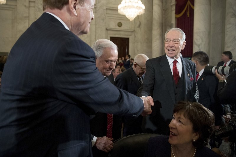 Jeff Sessions, Richard Shelby, Chuck Grassley, Susan Collins
