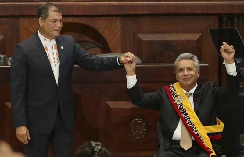 Rafael Correa, Lenin Moreno