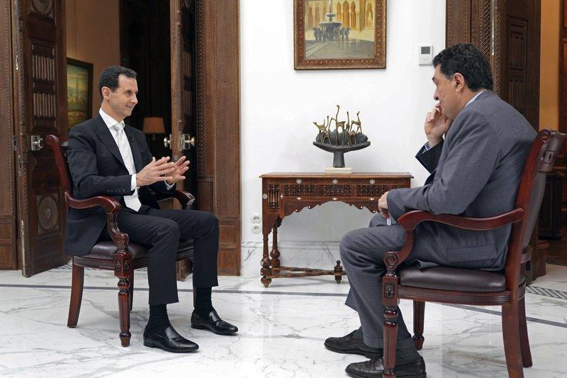 Bashar Assad, Alexis Papachelas