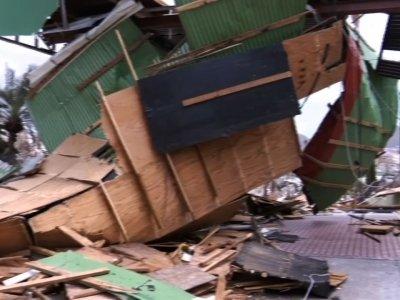Raw: Scenes of Devastation in St. Martin