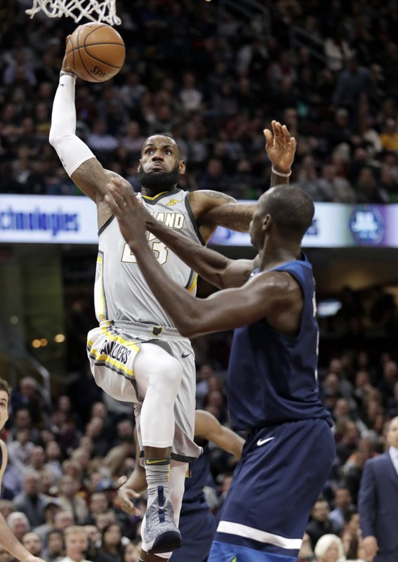 Gorgui Dieng, LeBron James