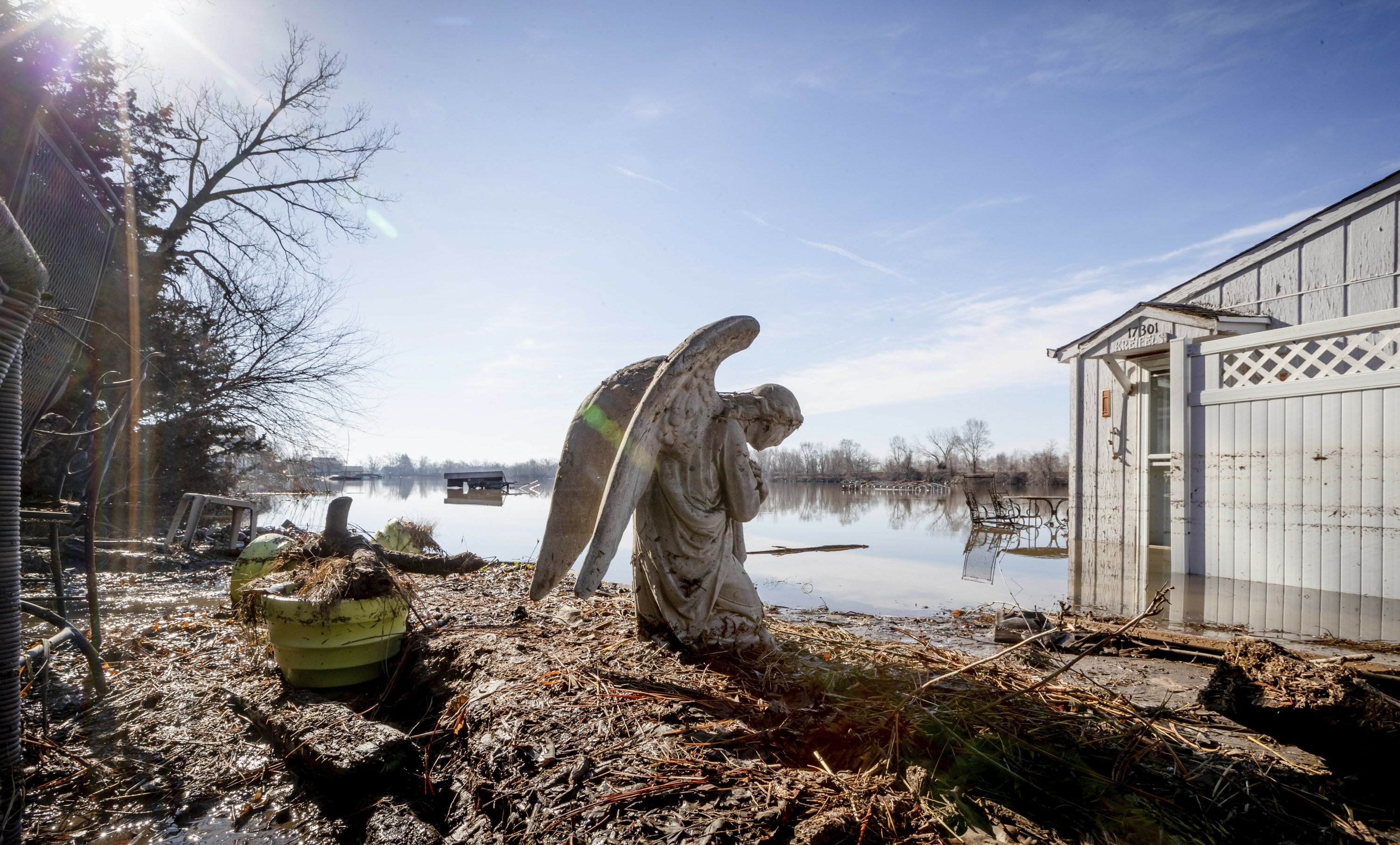 Flooding poses potential risk for 1 million private wells