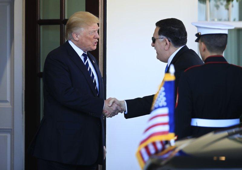 Donald Trump, Fayez al-Sarraj