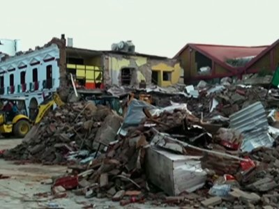 Earthquake Leaves Trail of Destruction in Mexico