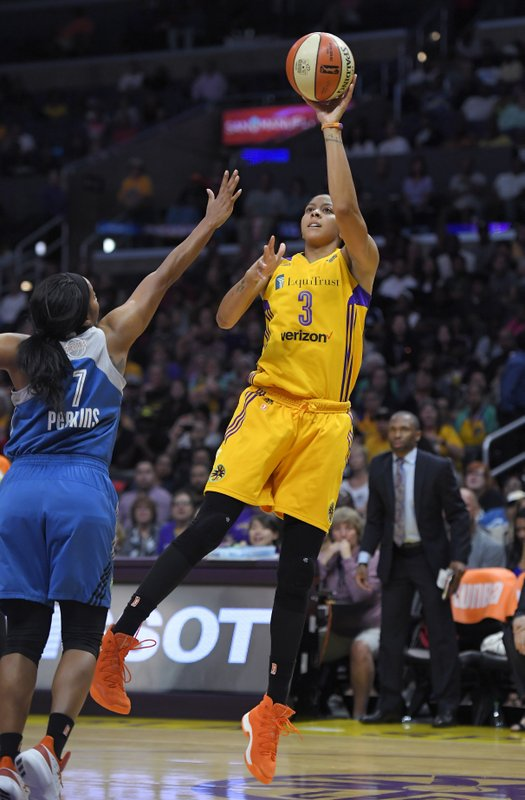 Candace Parker, Jia Perkins