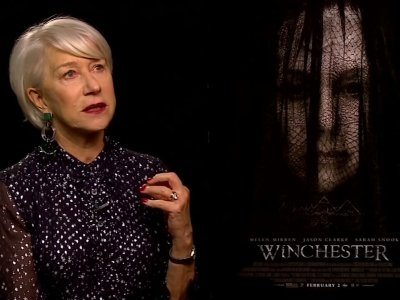 Helen Mirren talks guns, ghosts and 'Winchester'