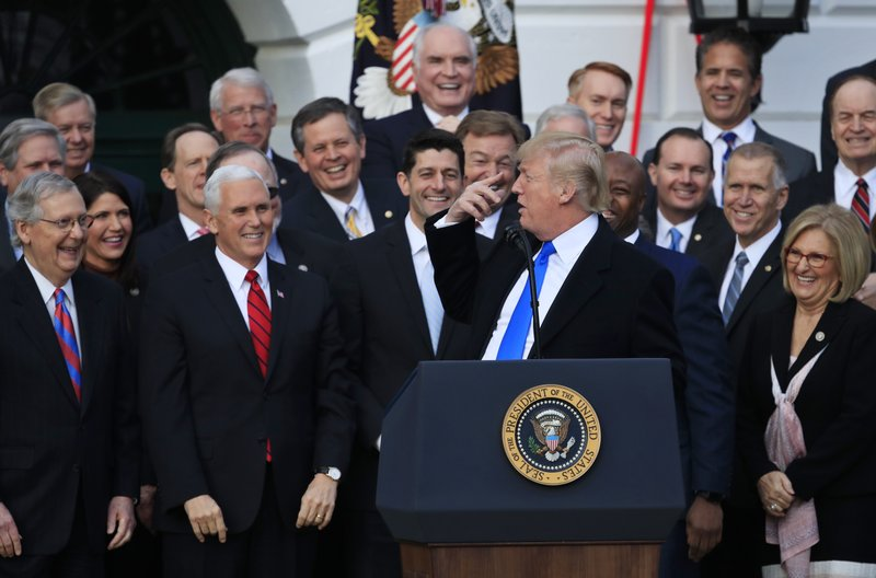 Donald Trump, Mike Pence, Paul Ryan, Mitch McConnell