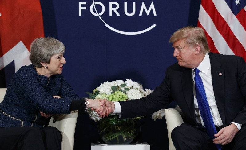 Donald Trump,Theresa May