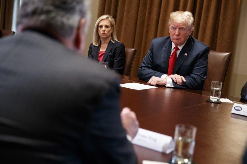 Donald Trump, Kirstjen Nielsen, Peter King