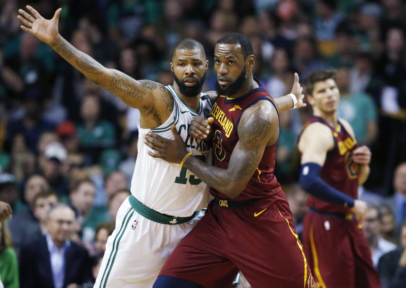 LeBron James, Marcus Morris