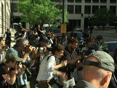 Manafort Arrived To Court For New Charges