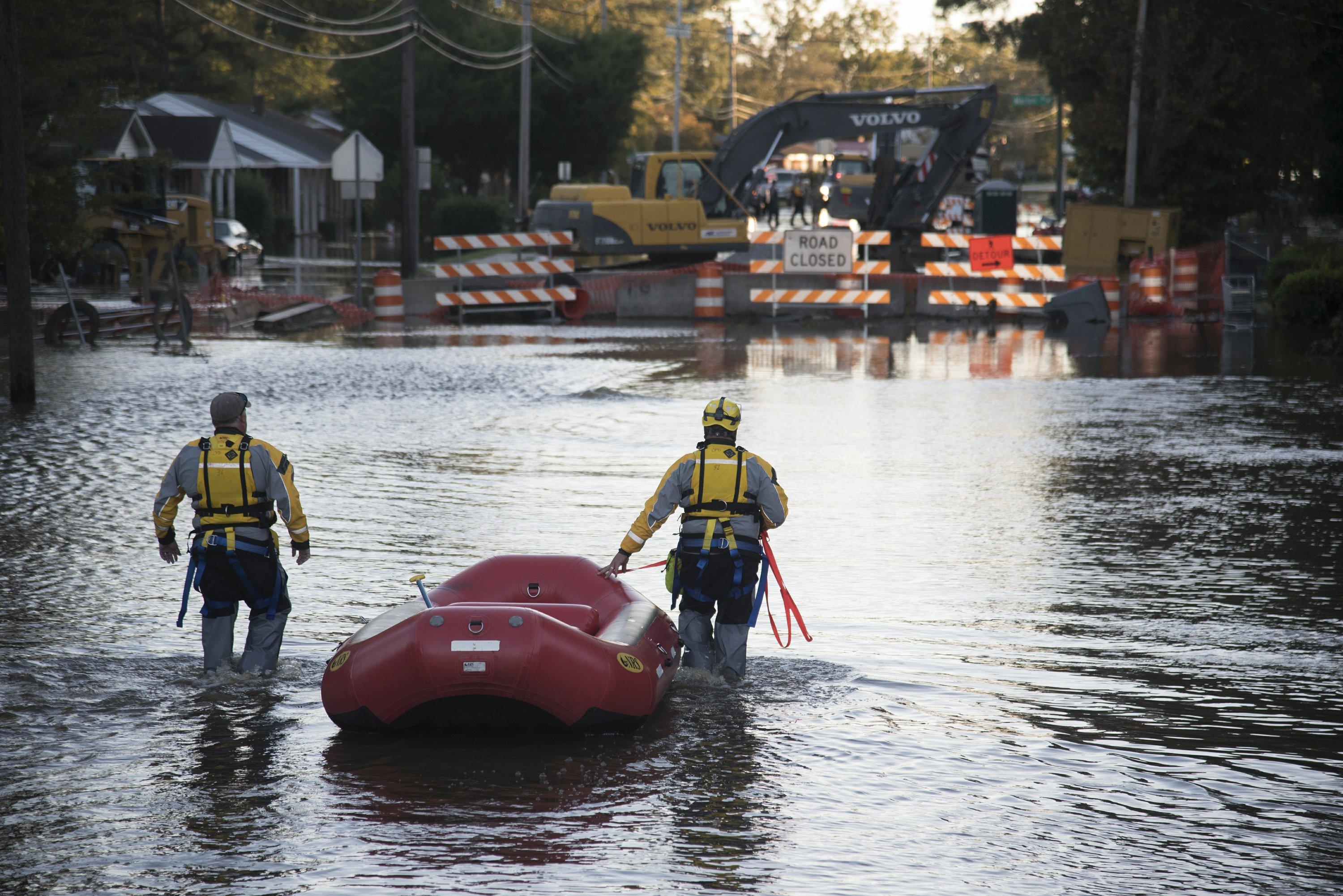 North Carolina braces for more flooding in downstream towns