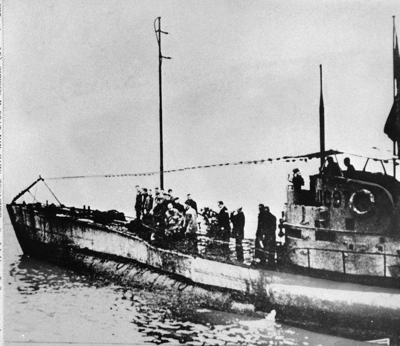 Уберегов Бельгии отыскали затонувшую лодку времен Первой мировой