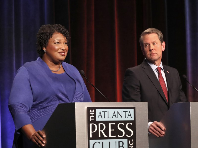 Stacey Abrams, Brian Kemp