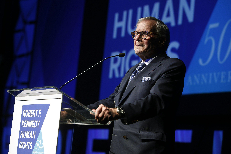 Brokaw says he feels terrible commentary offended Hispanics