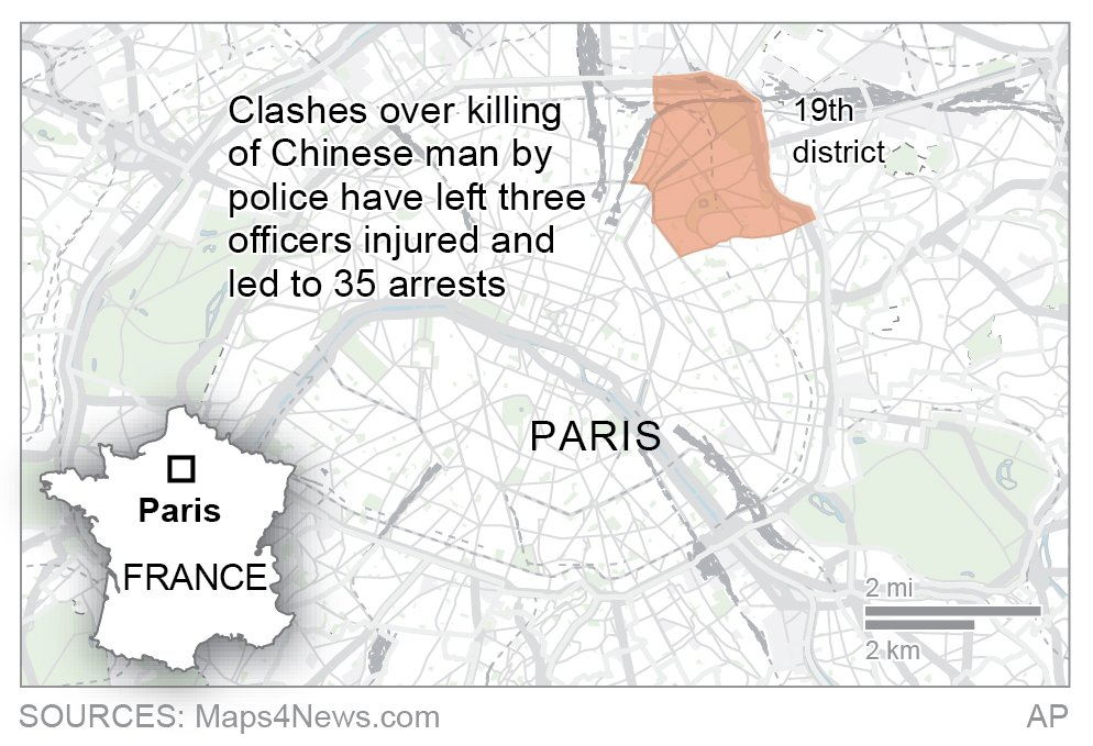 FRANCE CLASHES