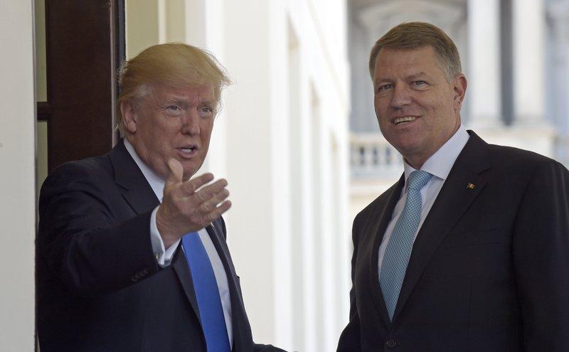 Donald Trump, Klaus Werner Iohannis