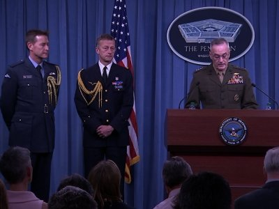 Gen. Dunford Says Targets Linked To Chem Weapons
