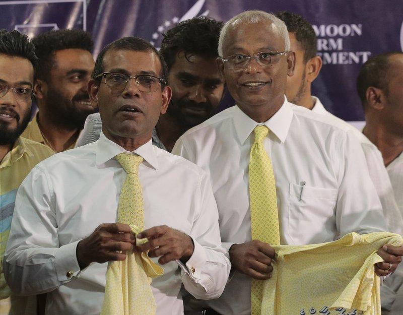 Mohamed Nasheed, Ibrahim Mohamed Solih