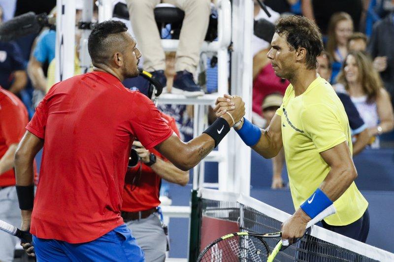 Nick Kyrgios, Rafael Nadal