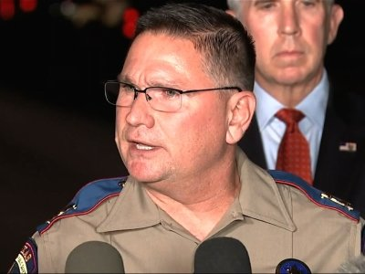 Officials: TX Shooter Had 'Self-Inflicted' Wound