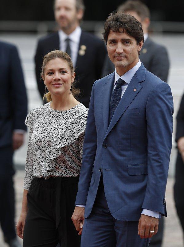 Justin Trudeau, Sophie Gregoire Trudeau