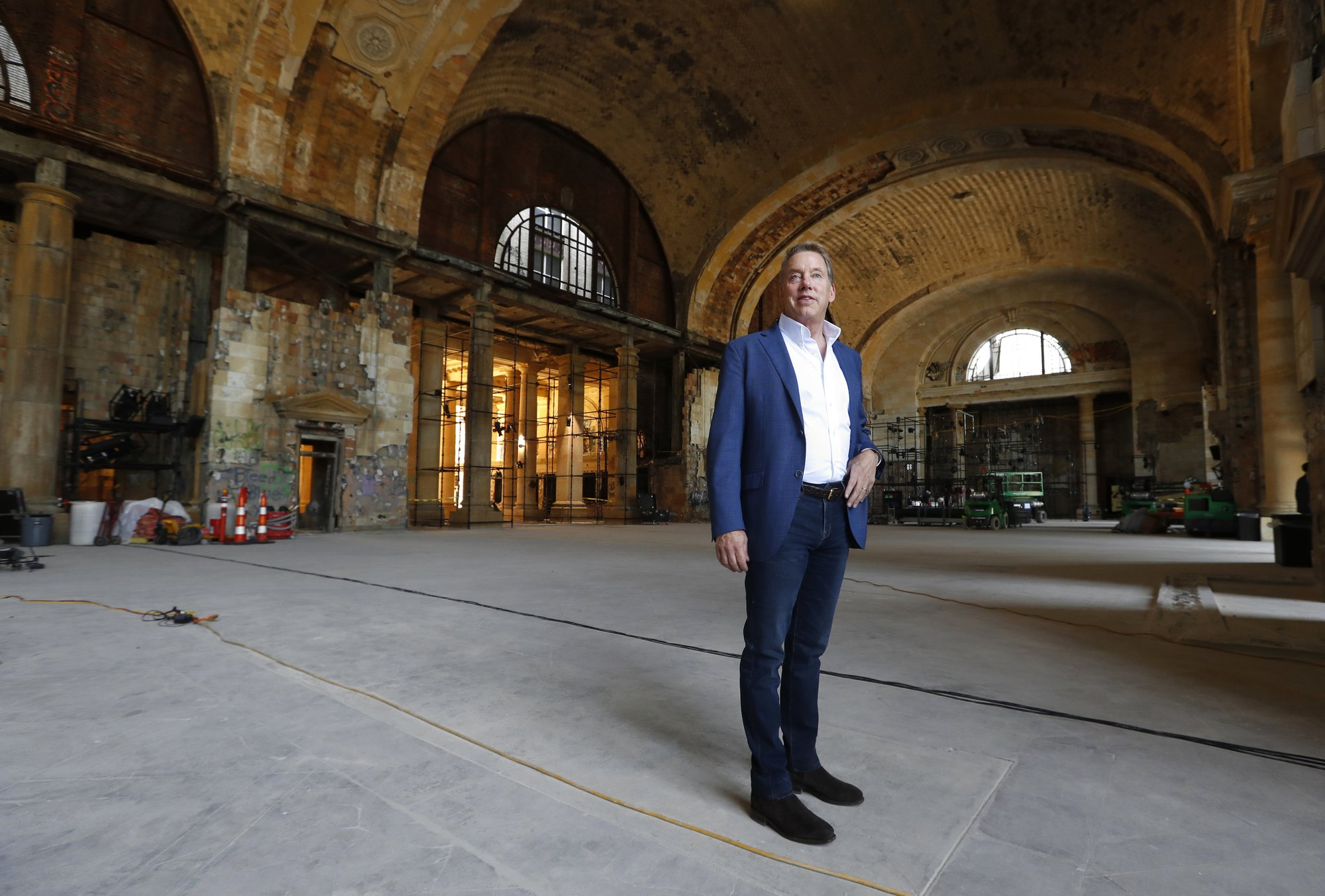 AP news guide: Ford's plans for Michigan Central station