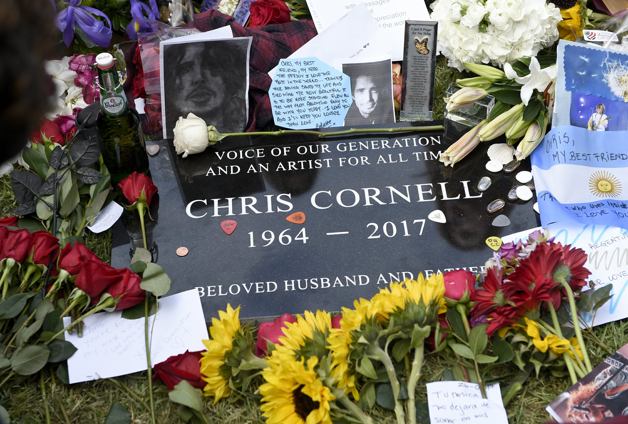 Rocker Chris Cornell Remembered As Voice Of Our Generation