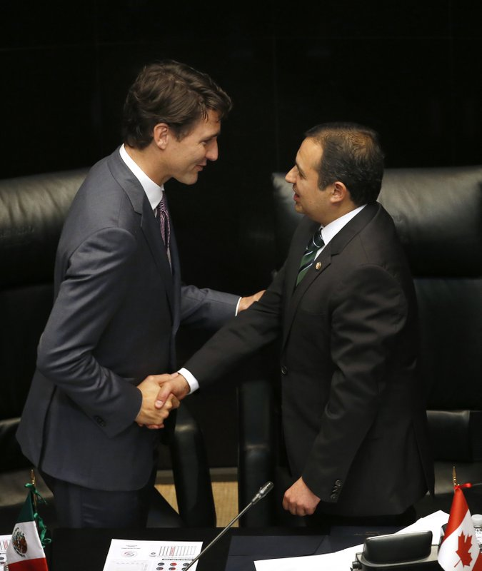 Justin Trudeau, Ernesto Cordero