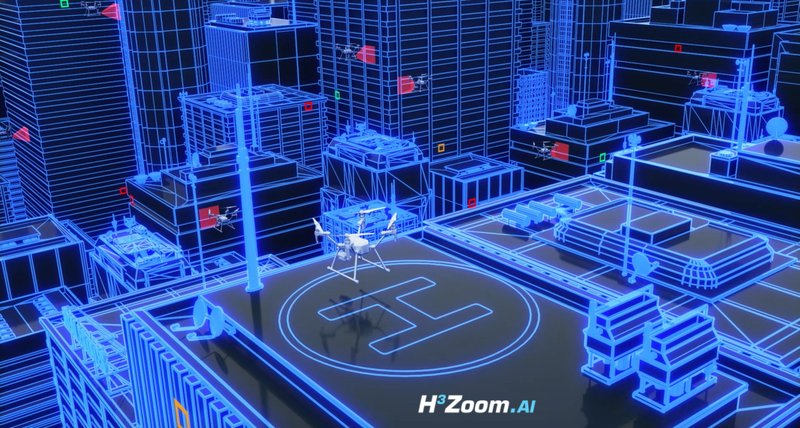 H3 Dynamics Launches H3 Zoom.AI for Smart Cities, Pioneering High-Rise Inspections Using A.I. & Drones