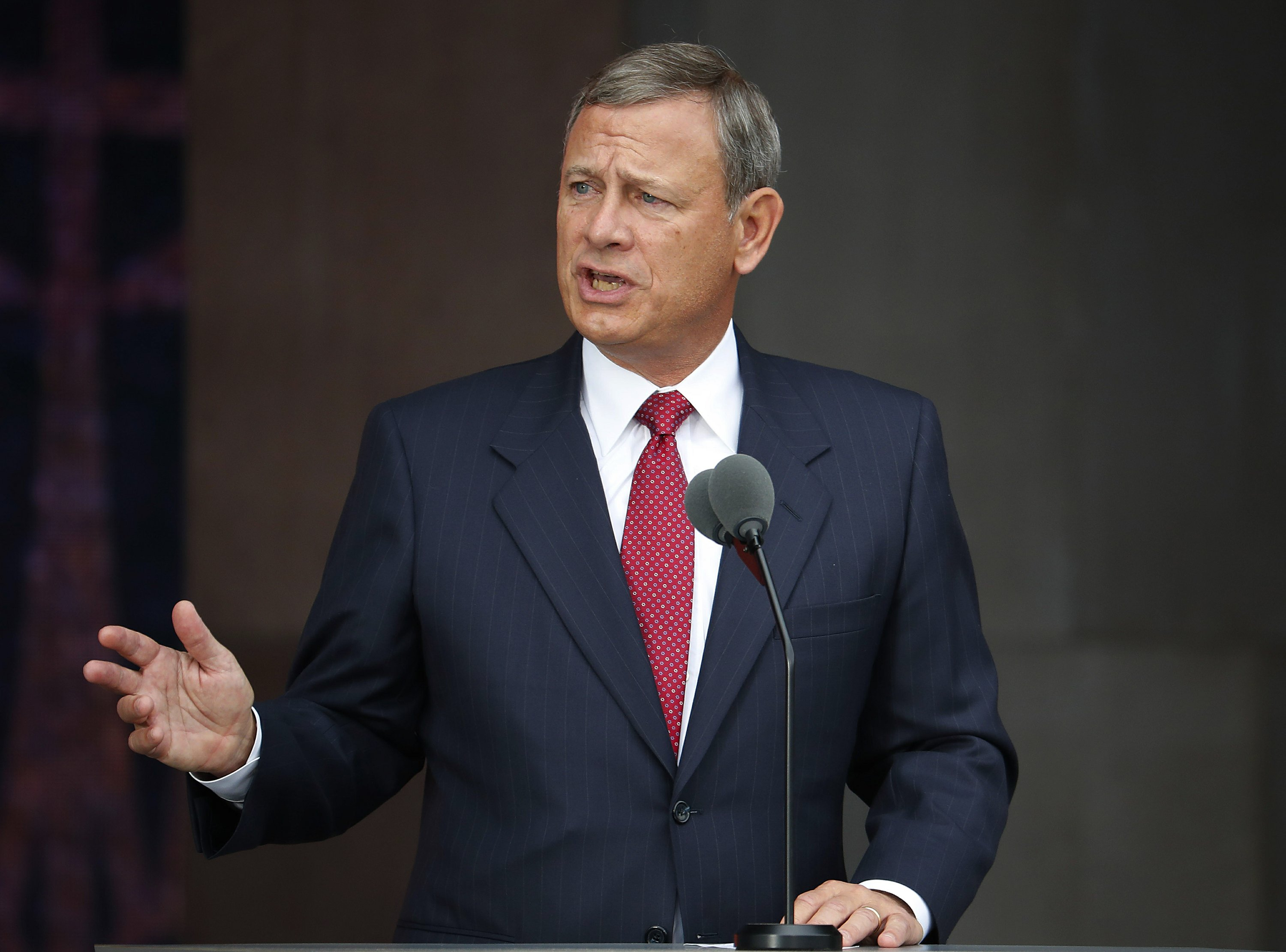 Roberts promises review of judiciary's misconduct polices